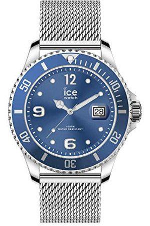 Ice-Watch ICE steel - Mesh blue - Medium - 3H