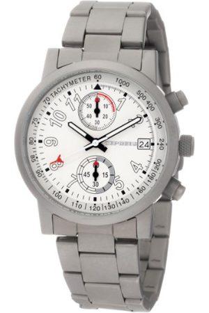 CEPHEUS Męski chronograf tytan Look zegarek CP505-181