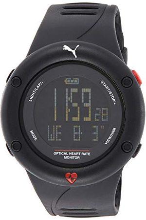 PUMA PU911291001 cyfrowy zegarek kwarcowy z plastikowym paskiem