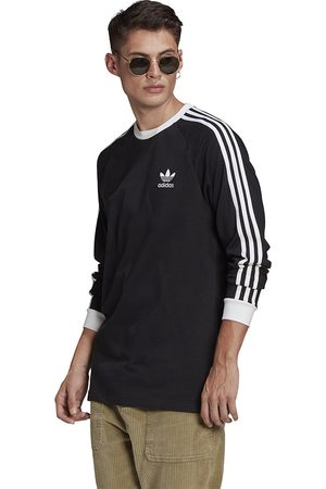 Z krótkim rękawem - Adidas Classics 3-Stripes LS Tee (GN3478)