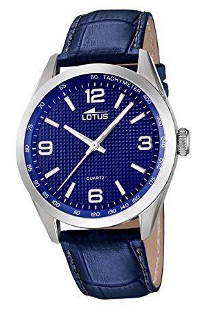 Lotus Męski analogowy zegarek kwarcowy z bransoletką z prawdziwej skóry 18149/4