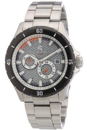 Carucci Watches męski zegarek na rękę XL analogowy automatyczny stal szlachetna CA2187ST-SL