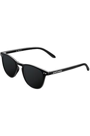 Northweek Unisex WALL Black okulary przeciwsłoneczne dla dorosłych, czarne, dla dorosłych