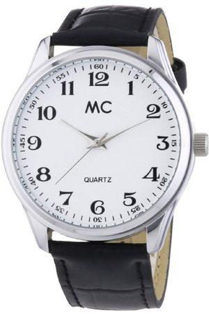 MC Męski zegarek na rękę analogowy kwarcowy skóra 27658