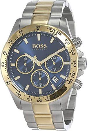 HUGO BOSS Męski analogowy zegarek kwarcowy z paskiem ze stali nierdzewnej 1513767