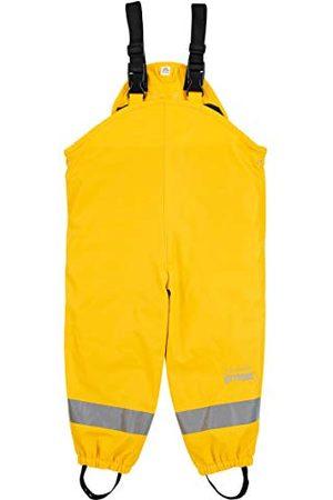 Sterntaler Dziewczynka Spodnie - Unisex dziecięce spodnie na szelkach przeciwdeszczowych, z podszewką