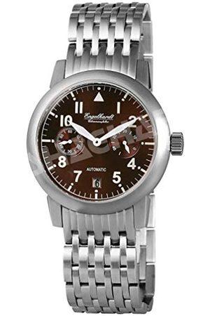 Engelhardt Męski analogowy zegarek mechaniczny z bransoletką ze stali szlachetnej 388927028002
