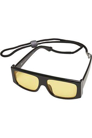 Urban classics Unisex Sunglasses Raja with Strap okulary przeciwsłoneczne, /żółty, jeden rozmiar