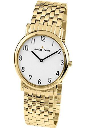 Jacques Lemans Męski analogowy zegarek kwarcowy Smart Watch z bransoletką ze stali szlachetnej 1-1369N