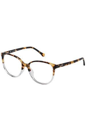 Loewe Unisex dla dorosłych VLWA17M530777 oprawka okularów, żółty (Matte Yellow Havana), 55