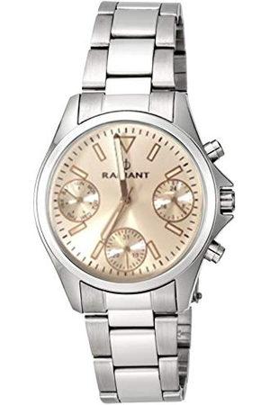 Radiant Unisex dla dorosłych chronograf kwarcowy zegarek z bransoletką ze stali szlachetnej RA385703A