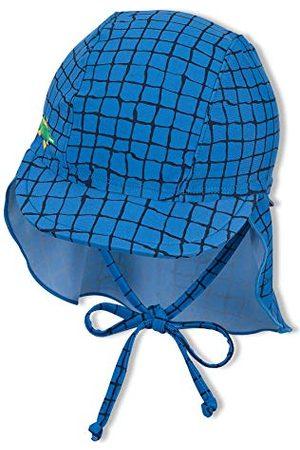 Sterntaler Czapka z daszkiem dla chłopców z ochroną karku krokodyla kapelusz przeciwsłoneczny