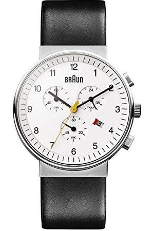 von Braun Mężczyzna Zegarki - Brązowy męski zegarek na rękę XL BN0035WHBKG