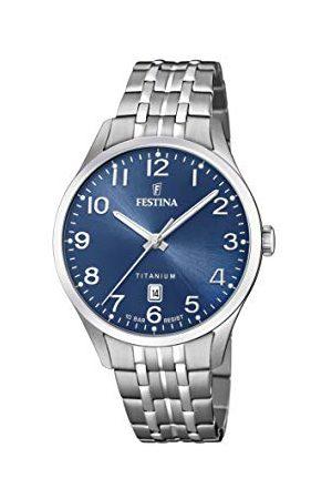 Festina F20466/2 męski analogowy zegarek kwarcowy z bransoletką tytanową