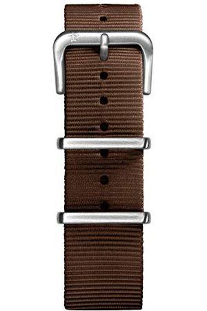 Oxygen Unisex brązowa nylonowa klamra przypinka 20 cm
