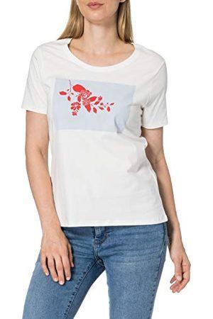 Mexx Damska koszulka z nadrukiem kwiatowym