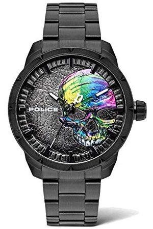Police Unisex zegarek kwarcowy dla dorosłych z bransoletką ze stali szlachetnej PL15715JSB.78M