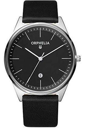 ORPHELIA Męski zegarek na rękę Simplicity analogowy kwarcowy skóra Pasek