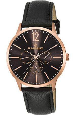 Radiant Męski analogowy zegarek kwarcowy ze skórzanym paskiem RA415607