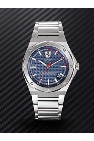 Scuderia Ferrari Męski analogowy klasyczny zegarek kwarcowy z paskiem ze stali nierdzewnej 0830530