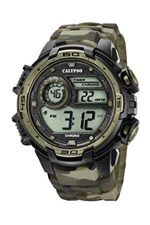 Calypso Męski chronograf kwarcowy zegarek z silikonowym paskiem K5723/6
