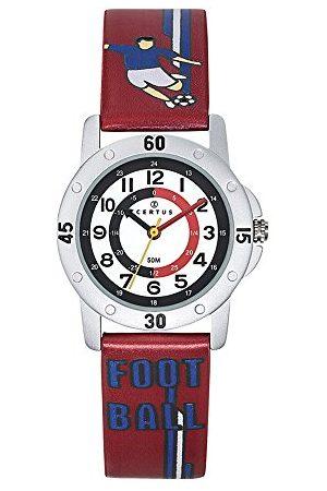 Certus Junior Unisex dziecięcy analogowy zegarek kwarcowy z paskiem PU 647620