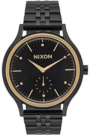 Nixon Damski analogowy zegarek kwarcowy z paskiem ze stali nierdzewnej A994-010-00