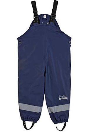 Sterntaler Unisex dziecięce spodnie na szelkach przeciwdeszczowych, z podszewką
