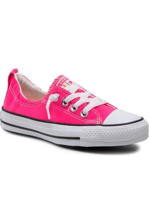 Converse Trampki - Ctas Shoreline Slip 570443C Hyper Pink/Black/White