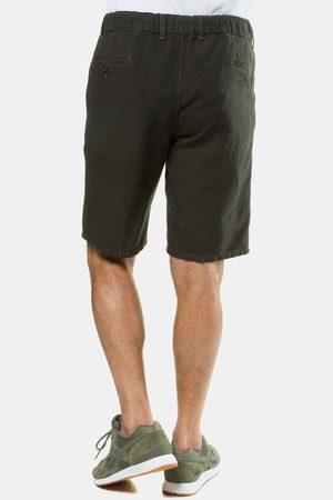 JP 1880 Duże rozmiary Bermudy z lnem, mężczyzna, , rozmiar: 62, len/bawełna