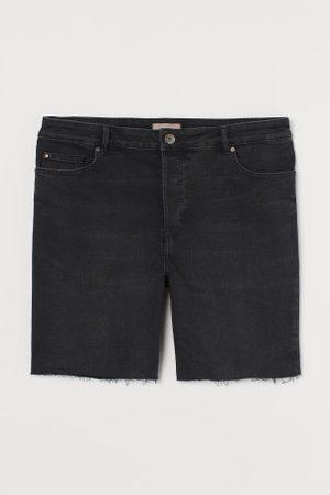 H&M Kobieta Szorty - + Szorty dżinsowe