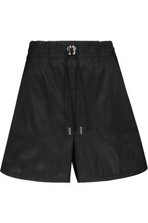 Alexander McQueen Kobieta Szorty - High-rise wide-leg shorts