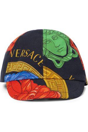 VERSACE Chłopiec Kapelusze - Medusa cotton baseball cap