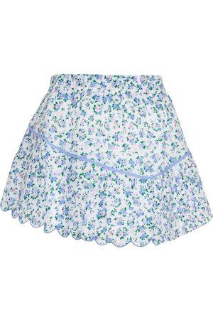 LOVESHACKFANCY Kobieta Szorty - Memphis floral cotton miniskirt