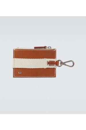 Jacquemus Portmonetki i Portfele - Le Porte Grain carabiner wallet