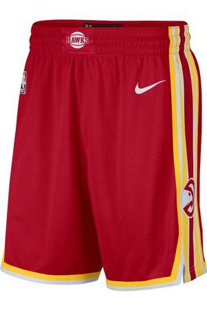 Nike Mężczyzna Szorty - MÄ™skie spodenki NBA Swingman Hawks Icon Edition 2020