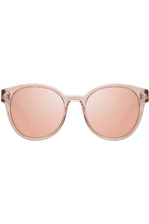 Le Specs Paramount in - Tan. Size all.
