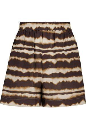 Nanushka Madrid tie-dye cotton shorts