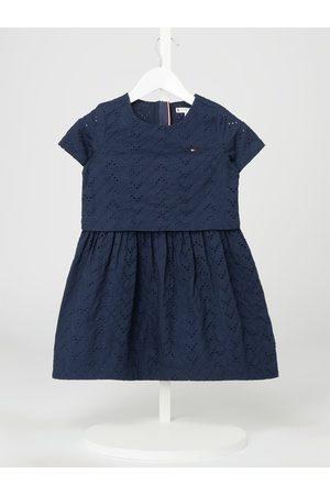 T. Hilfiger Kids Sukienka z bawełny ekologicznej
