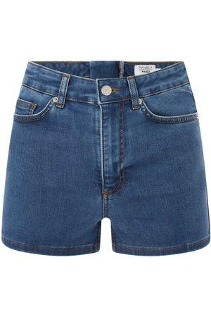 NA-KD Kobieta Bermudy - Szorty jeansowe z dodatkiem streczu PAMELA x REBORN
