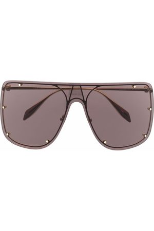 Alexander McQueen Eyewear Black