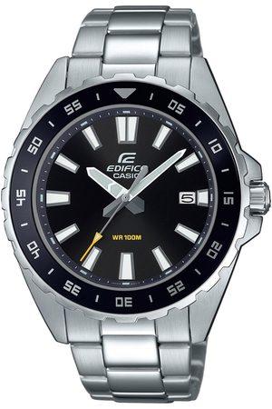 Casio Mężczyzna Zegarki - Zegarek - EFV-130D-1AVUEF Silver/Black