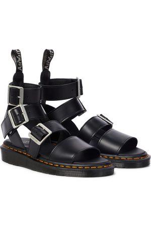 Rick Owens Kobieta Sandały - X Doc Marten Gryphon leather sandals