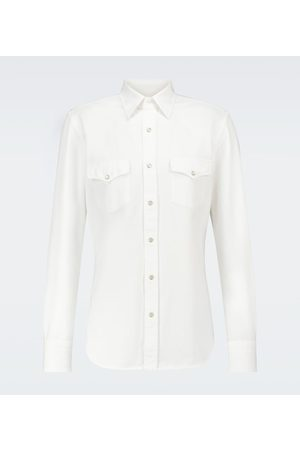 Tom Ford Western long-sleeved cotton shirt