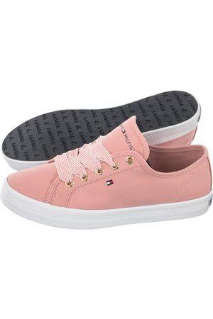 Tommy Hilfiger Kobieta Tenisówki i Trampki - Tenisówki Essential Nautical Sneaker FW0FW04848-TQS Soothing Pink (TH143-d)