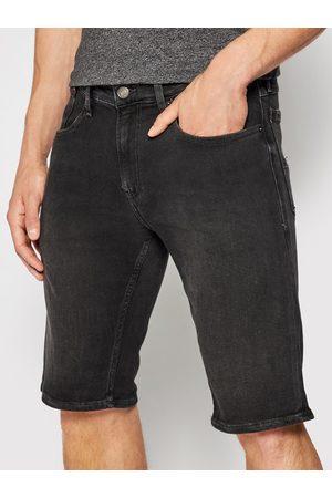 Tommy Jeans Mężczyzna Szorty - Szorty jeansowe Ronnie DM0DM10571 Relaxed Fit