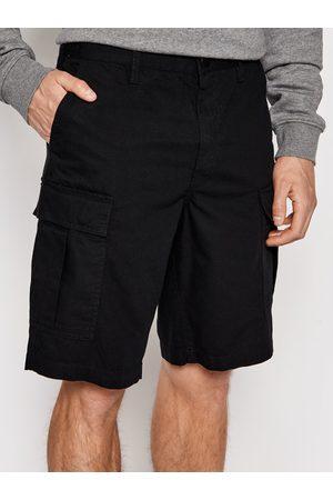 DC Mężczyzna Szorty - Szorty materiałowe Warehouse ADYWS03056 Relaxed Fit
