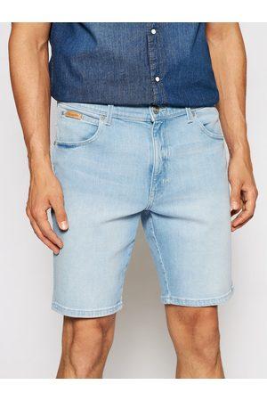 Wrangler Szorty jeansowe Texas W11CZH280 Slim Fit
