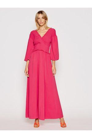 NA-KD Kobieta Sukienki dzienne - Sukienka letnia Smocked 1018-006780-0015-581 Regular Fit