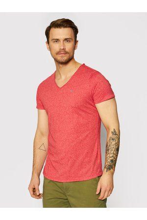 Tommy Hilfiger Mężczyzna Z krótkim rękawem - T-Shirt Jaspe V Neck DM0DM09587 Slim Fit